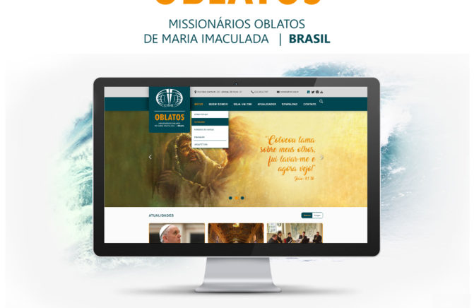 Novo site dos Missionários Oblatos de Maria Imaculada!