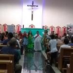 Paróquia Nossa Senhora Aparecida Promove Oração do Terço e Apresentação das Crianças da Catequese