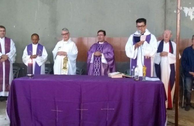 Paróquia Santo Eugênio de Mazenod, Inaugura Comunidade com o Nome do Fundador