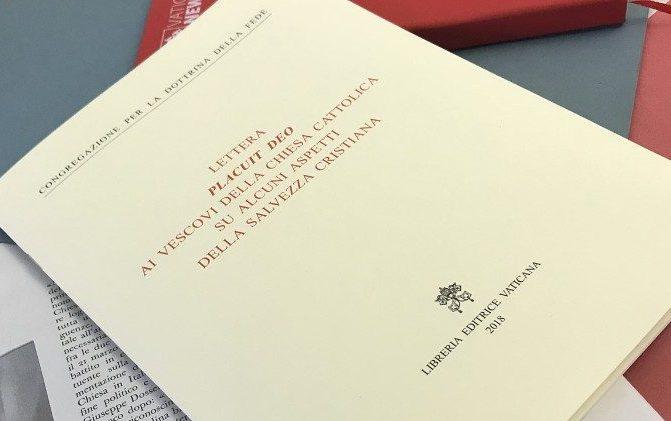 Salvação cristã é tema da carta Placuit Deo aos bispos da Igreja Católica