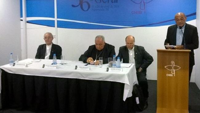 56ª Assembleia da CNBB: bispos enviarão carta ao Papa