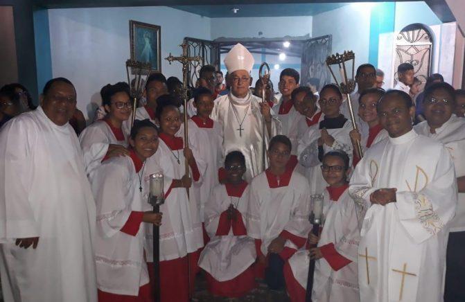 Arcebispo Metropolitano de Belém-PA Visita Missão Oblata