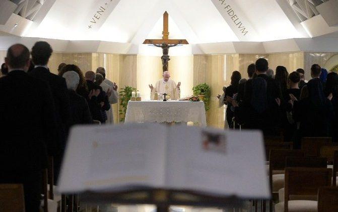 Papa Francisco: não existe evangelização de poltrona
