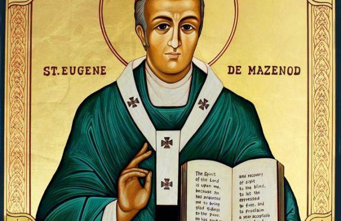 Ladainha a Santo Eugênio de Mazenod. Reze conosco!