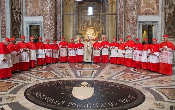 Papa Francisco Criou Hoje Catorze Novos Cardeais
