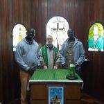 Província Oblata do Brasil Acolhe dois Padres Oblatos Africanos que vem Estudar a Língua Portuguesa