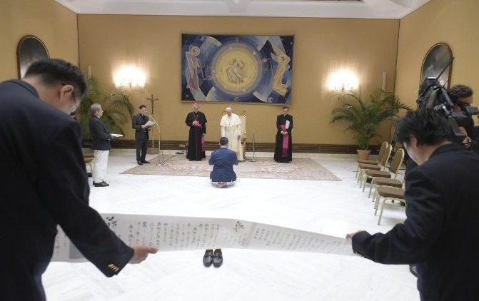 Papa quer visitar o Japão em 2019