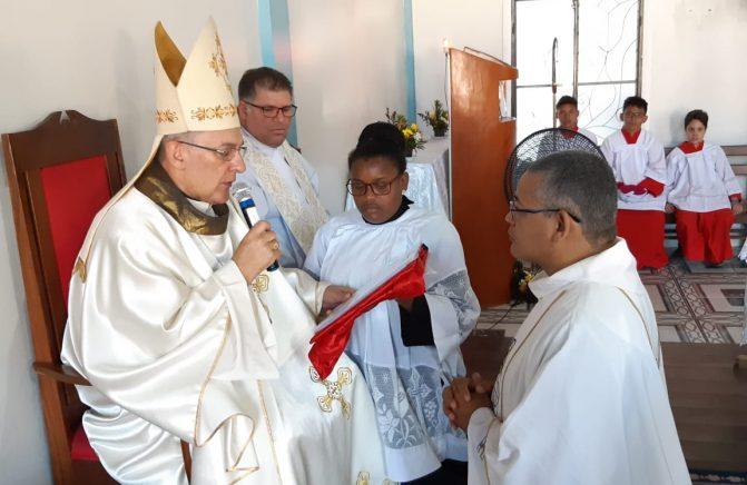 Posse do Novo Pároco da Paróquia Nossa Senhora de Lourdes