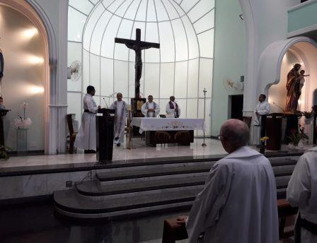 Missa de 7o dia do Pe. Francisco Rubeaux, OMI