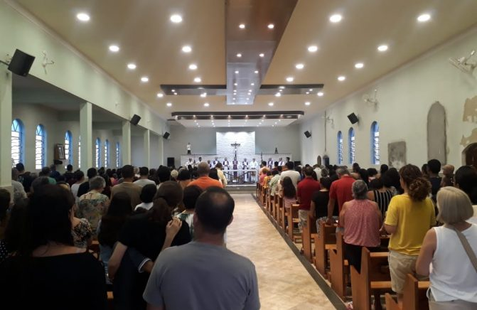 Missa de 7º dia do Pe. Sérgio Cordeiro Nunes, OMI