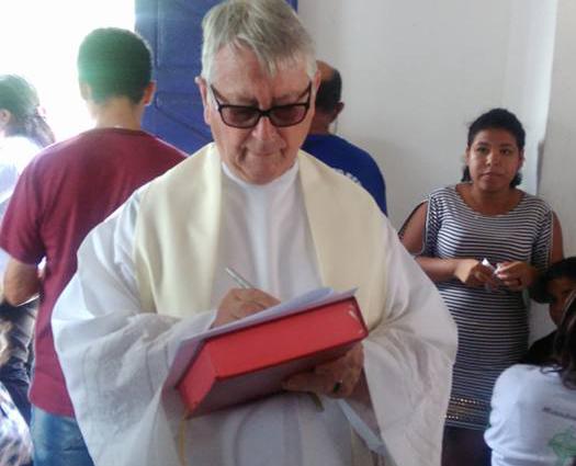 Mensagem de Pêsames Pelo Falecimento do Pe. Francisco Rubeaux, OMI