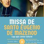 Missa de Santo Eugênio de Mazenod – 21 de Maio