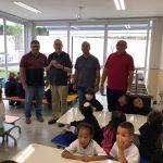 Provincial e Conselho Visitam Escola Santo Eugênio