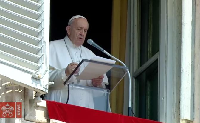 Papa no Angelus: a salvação é para todos, mas requer esforço e perseverança na fé