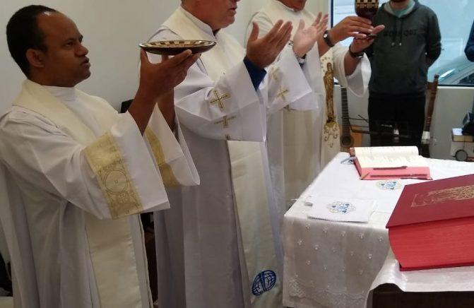 Inauguração da Nova Casa do Pós-Noviciado Santo Eugênio