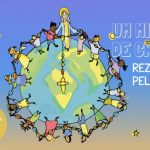Um milhão de crianças rezam o terço pela paz no mundo