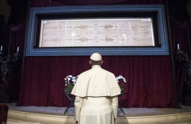 Após 5 anos, o Santo Sudário voltará a ser exposto ao público em 2020
