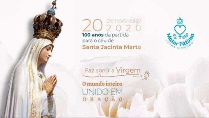 Como participar do Brasil na oração mundial Mater Fátima 2020?