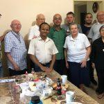 Visita solidária ao Pe Thomas – OMI