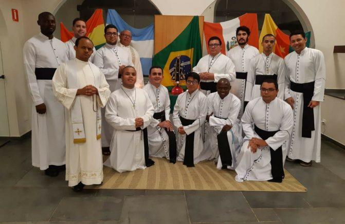 Pós-Noviciado oblato do Brasil Realiza Retiro