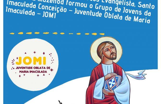 JOMI - Brasil, grupo foi formado no Dia da Festa de São Marcos Evangelista