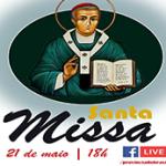 Missa Solene de Santo Eugênio de Mazenod, dia 21 maio às 18h!