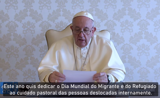 Papa encoraja a reconhecer Jesus no drama de migrantes e refugiados