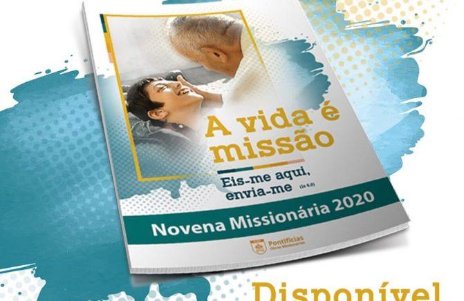 Novena missionária e materiais da Campanha 2020 já estão disponíveis no site das POM