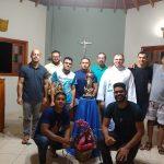 Entronização da imagem da Imaculada no Pré-Noviciado Pe. Tempier
