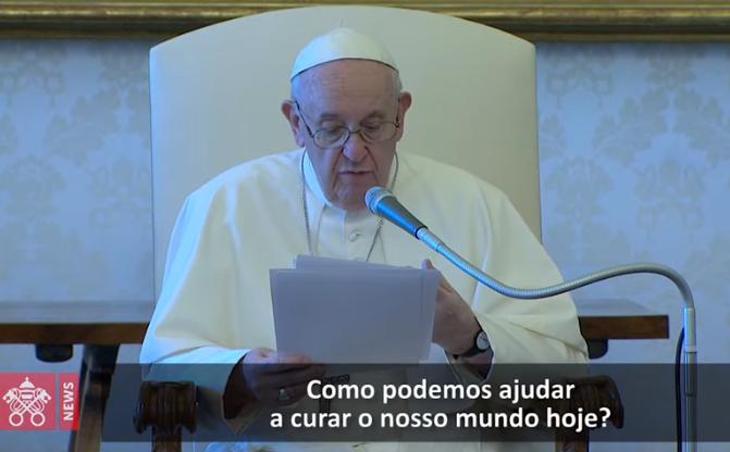 Na Audiência Geral, o Papa recorda as feridas da pandemia e convida a olhar para Jesus