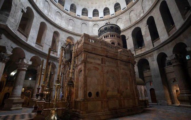 Ajuda especial para Jerusalém da Ordem do Santo Sepulcro