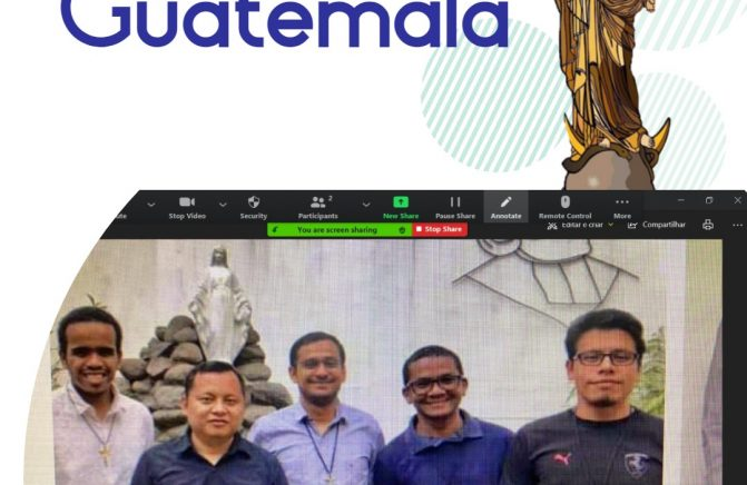 Provincial do Brasil Assessora Temática ao Noviciado oblato da Guatemala
