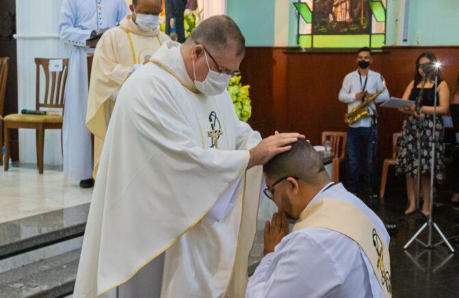 Província Oblata do Brasil se Alegra com a Ordenação Presbiteral do Diácono Jhordan