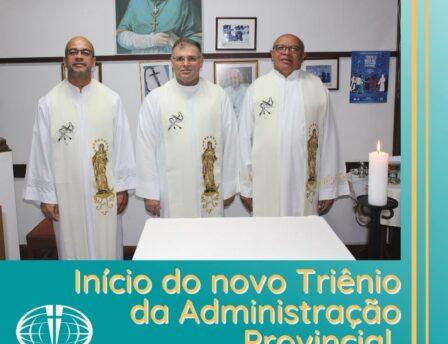 Início do novo Triênio da Administração Provincial